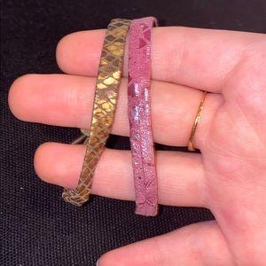 Gorgeous Bracelets/Hair Ties
